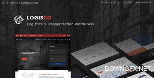 ThemeForest - Logisco v1.0.4 - Logistics & Transportation WordPress - 23075275