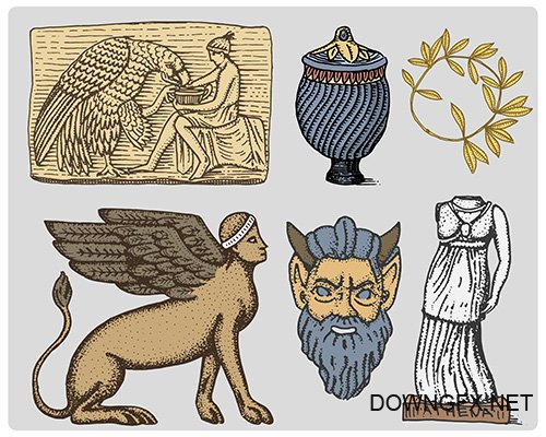 Ancient Greece symbols