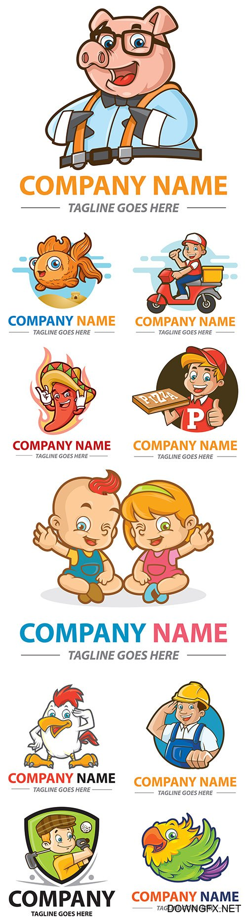 Brand name company logos business corporate design 4