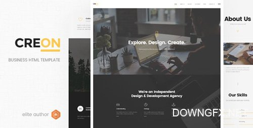 ThemeForest - Creon v1.0 - Business HTML Template - 19336462