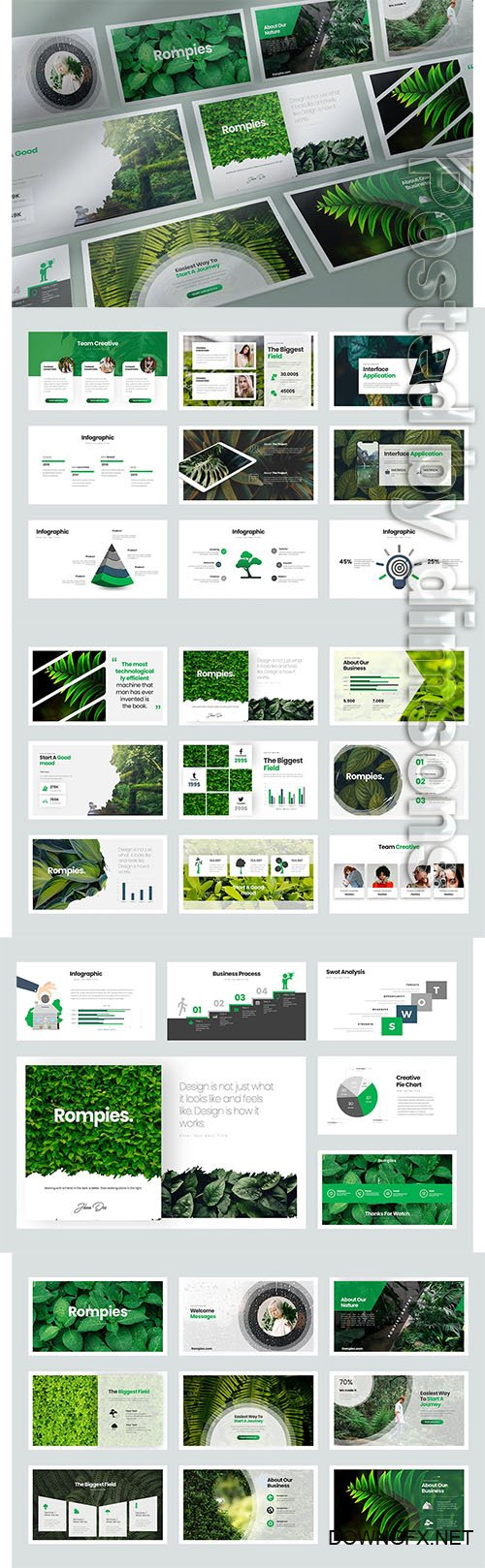 Rompies PowerPoint, Keynote, Google Slides Templates