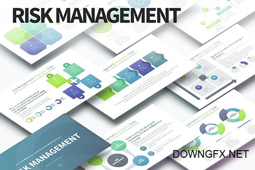 Risk Management - PowerPoint Infographics Slides