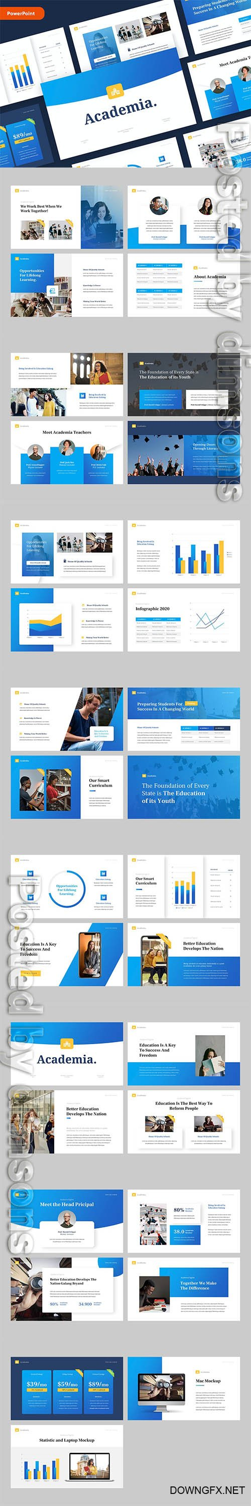 ACADEMIA - Education Powerpoint Template