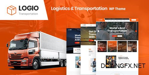 ThemeForest - Logio v1.0 - Logistics & Transportation WordPress Theme - 26680928