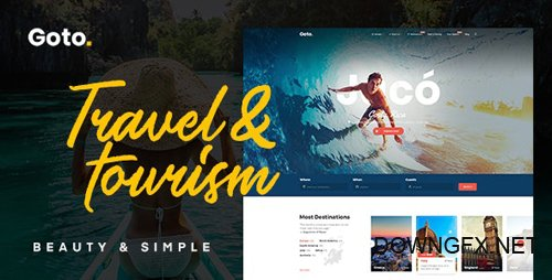 ThemeForest - Goto v1.8 - Tour & Travel WordPress Theme - 21822828