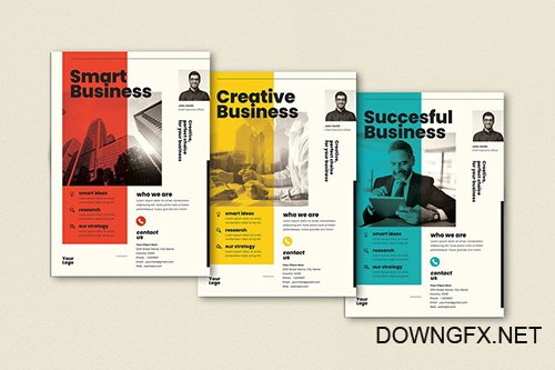 Business Flyer Set