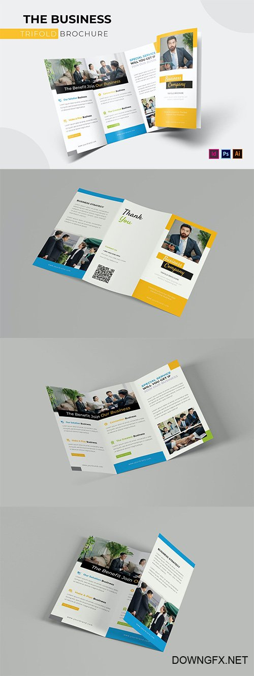 Business | Trifold Brochure Template