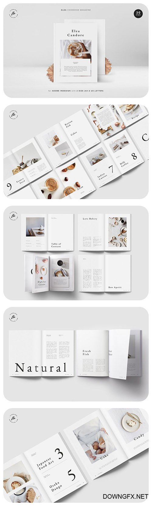 Elea Cookbook Magazine