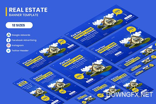 Real Estate Google AD Template