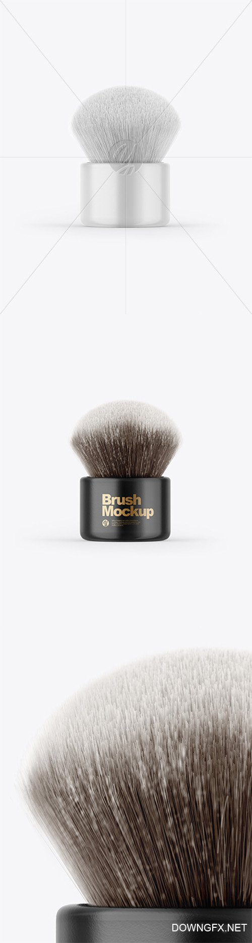Glossy Powder Brush Mockup 64315