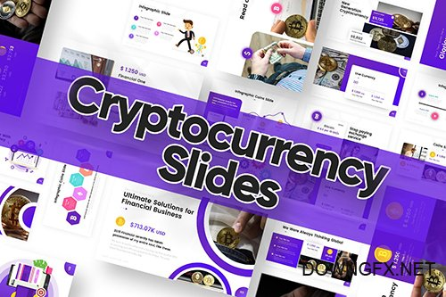 Crypto Currency Slides Powerpoint Template