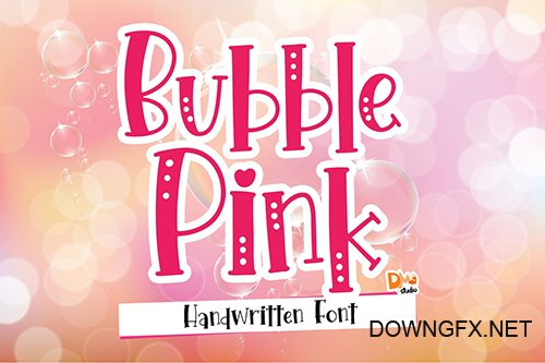 Bubble Pink