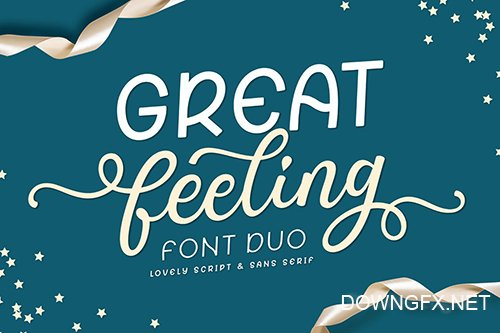 Great Feeling Font Duo