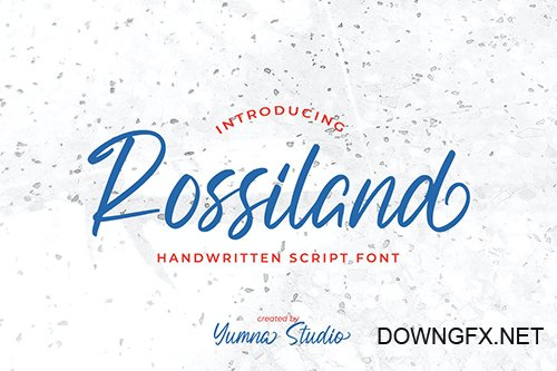Rossiland-Beautiful Handwritten Font