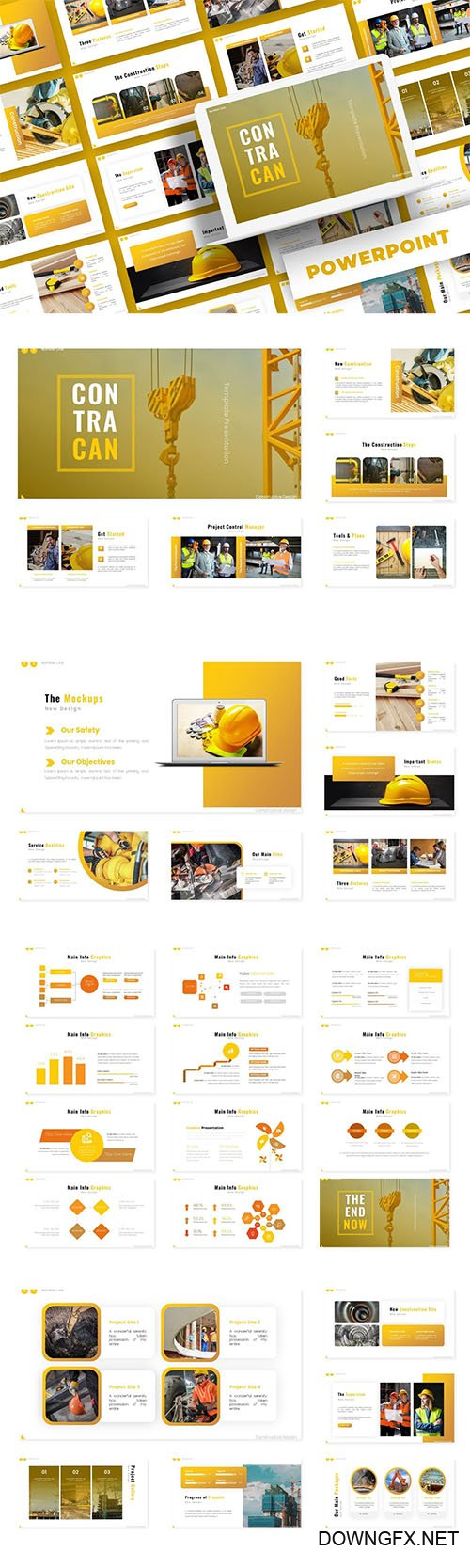 Contracan - PowerPoint, Keynote and Google Slides Template