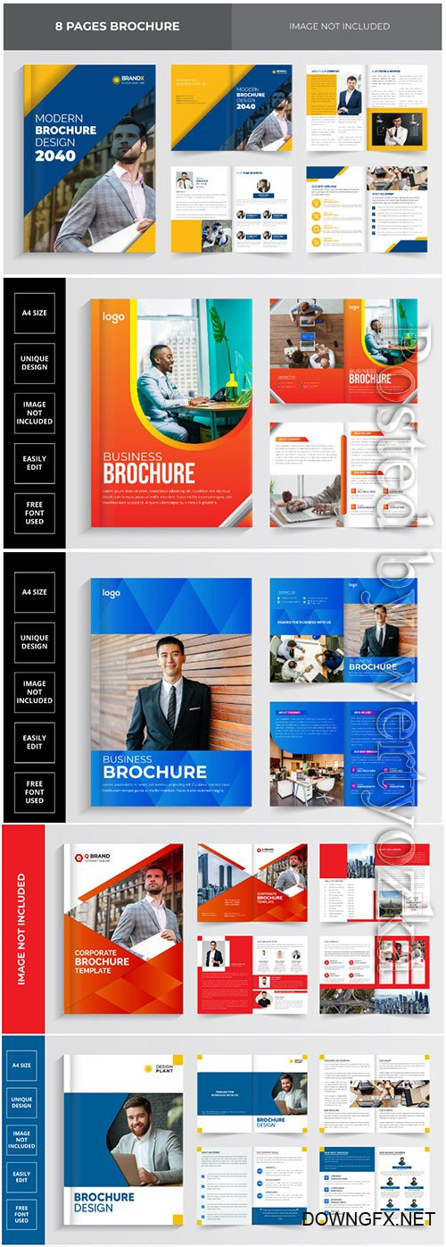 2021 business brochure design template