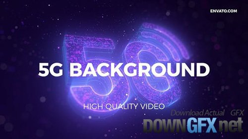 Videohive - 5G Network Background 27431144