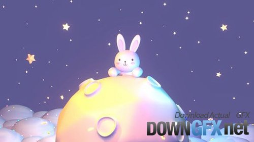 Videohive - Good Night Bunny 28724056