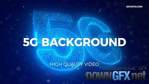 Videohive - 5G Network Background 27225359