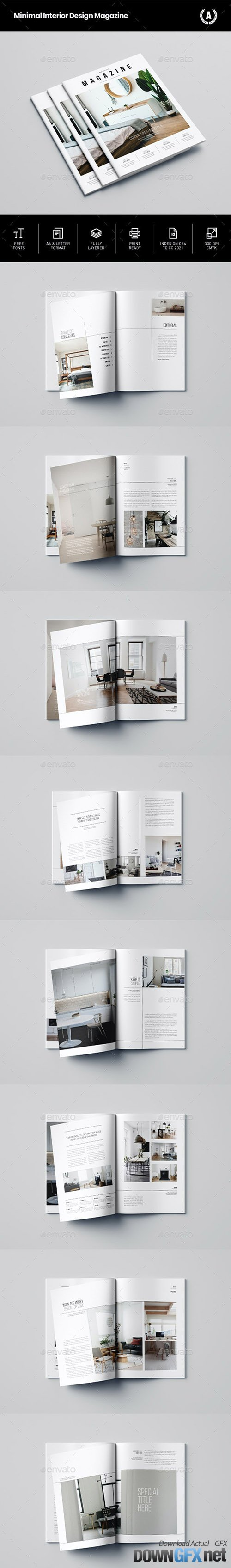 Minimal Interior Design Magazine