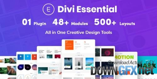 Divi Essential v2.9.1 - All In One Design Modules For Divi Builder - NULLED