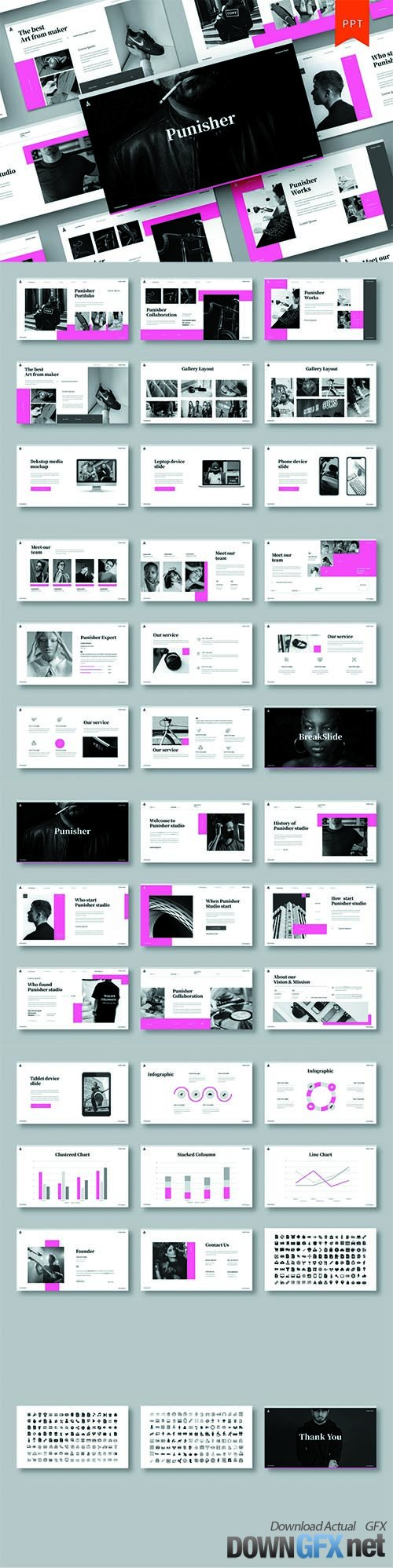 Punisher - Business PowerPoint Template