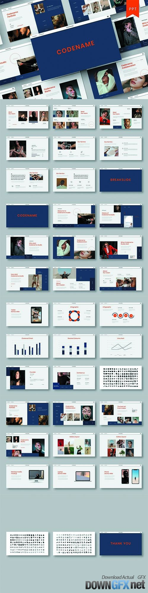 Codename – Business PowerPoint Template