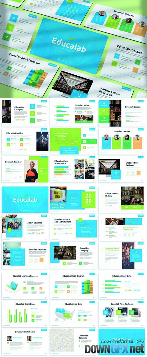 Educalab - Education Powerpoint Template