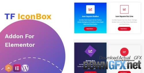CodeCanyon - TF IconBox Addon for elementor v1.0.2 - 27562255