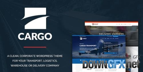 ThemeForest - Cargo v1.2.9 - Transport & Logistics - 13281152