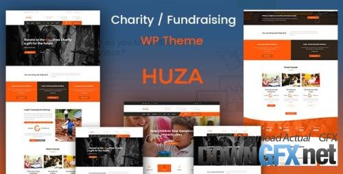 ThemeForest - Huza v1.18 - Charity Responsive WordPress Theme - 20925327