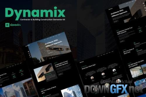 ThemeForest - Dynamix v1.0.0 - Architecture Elementor Template Kit - 29313273