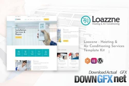ThemeForest - Loazzne v1.0.0 - Heating & Air Conditioning Services Template Kit - 29485399