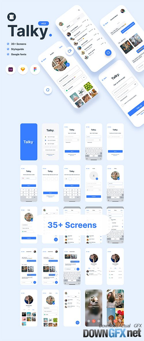 Talky | Chat & Video Messenger App
