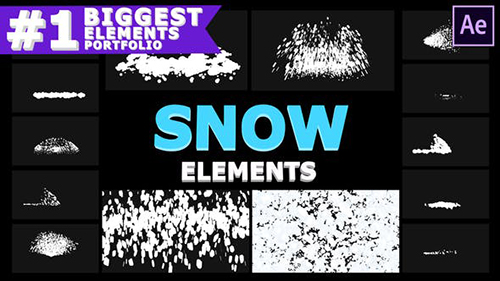 Cartoon Snowflakes | After Effects 29605909