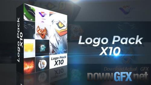 Logo Reveal Pack X10 28857574