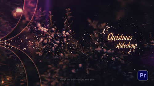 Christmas Slideshow For Premiere Pro 29620183