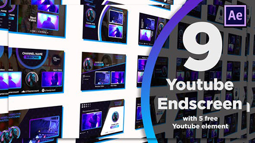 Youtube End Screens 9+5 28468406