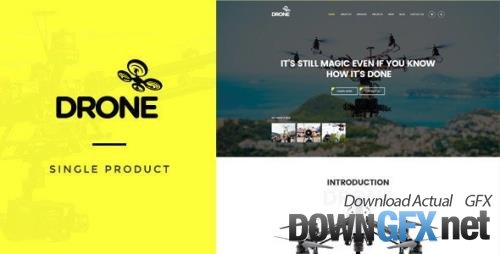 ThemeForest - Drone v1.26 - Single Product WordPress Theme - 16348804