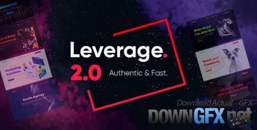ThemeForest - Leverage v2.0.4 - Creative Agency & Portfolio WordPress Theme - 26643749