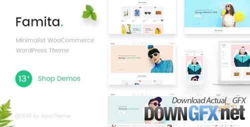 ThemeForest - Famita v1.29 - Minimalist WooCommerce WordPress Theme - 22308715