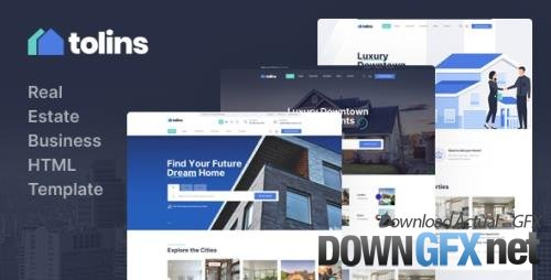 ThemeForest - Tolips v1.0 - Real Estate Business HTML Template - 29854887