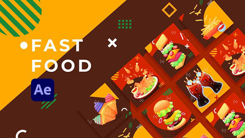 Fast Food Product Promo | After Effects 31670718