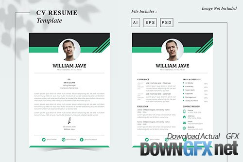 William Jave - CV Resume Template