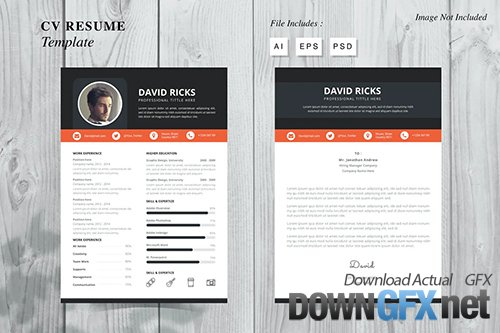 David Ricks - CV Resume Template