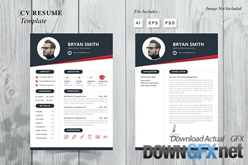 Bryan Smith - CV Resume Template