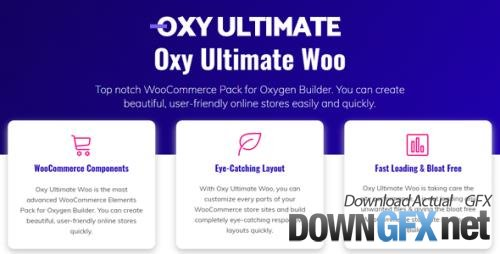 OxyUltimate - Oxy Ultimate Woo v1.2 - Oxygen Components for WooCommerce - NULLED