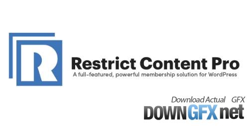 Restrict Content Pro v3.5.7 - Powerful Membership Solution For WordPress + Add-Ons