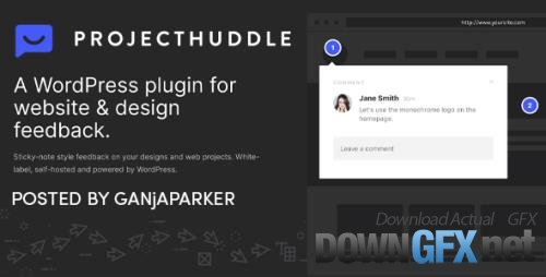 ProjectHuddle v4.0.19 - WordPress Plugin For Website Design Communication + Add-Ons