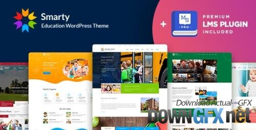 ThemeForest - Smarty v3.4.7 - School Kindergarten WordPress theme - 15709416 - NULLED